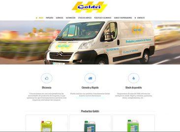 Web de Goldri - Diseño web Las Palmas
